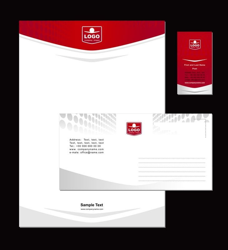 Bay Commercial Printing Online Services Company Letterhead