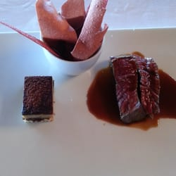 """Carved beef, tail cake, """"potatoes and…"""