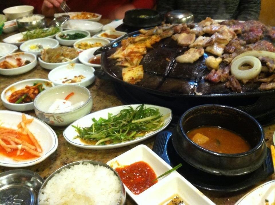 Shin chon 114 foto cucina coreana ellicott city md for Cucina coreana
