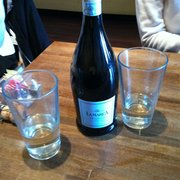 Caffe Mona la bistro - Making do! Prosecco out of water glasses can work!! - Pittsburgh, PA, Vereinigte Staaten