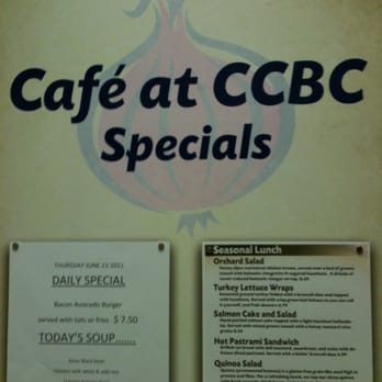 Ccbc Cafe Hours
