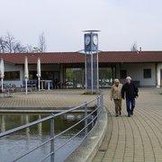 Der Kurpark, Bad Staffelstein, Bayern