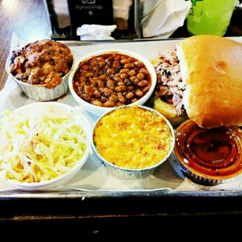 Smoque BBQ - Chicago, IL, United States. Pulled pork barbeque sandwich ...
