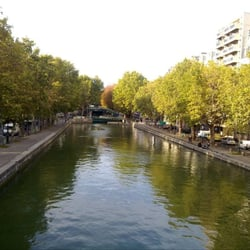 Le Jemmapes - Paris, France. canal