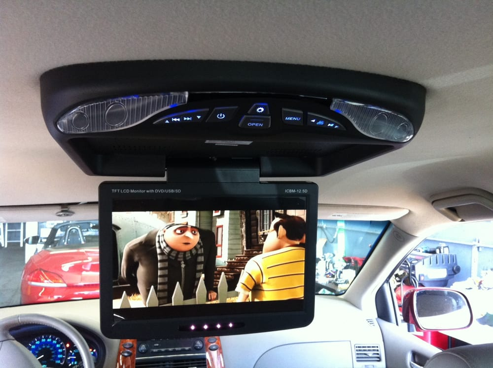12.5'' OVERHEAD MONITOR WITH DVD PLAYER INSTALL ON SIENNA 2006 | Yelp