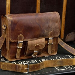 The Real Mccoy - nice satchels - Exeter, Devon, United Kingdom