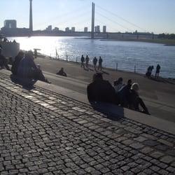 Rheintreppe, Düsseldorf, Nordrhein-Westfalen
