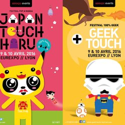 JAPAN TOUCH HARU - GEEK TOUCH 2016