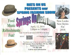 Springs Up, Derby Down Hat Fashion Show