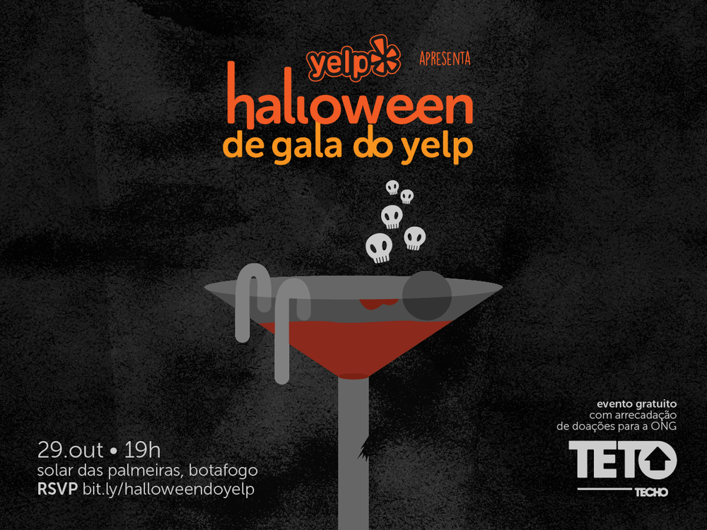 Halloween de Gala do Yelp!