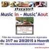Photo de Festival Music in - Music'Aout : Fête des musiques et chansons régionales