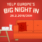 FESTIVAL OF FIRSTS : Yelp Europe's Big Night In : Paris !