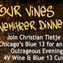Blue 13 Hosts Four Vines Winemaker Dinner feat. Christian Tietje