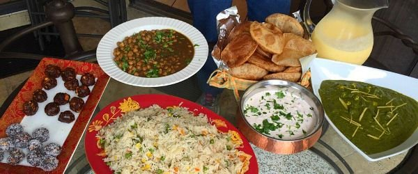 Learn how to make this Indian spread at Ayesha's Kitchen