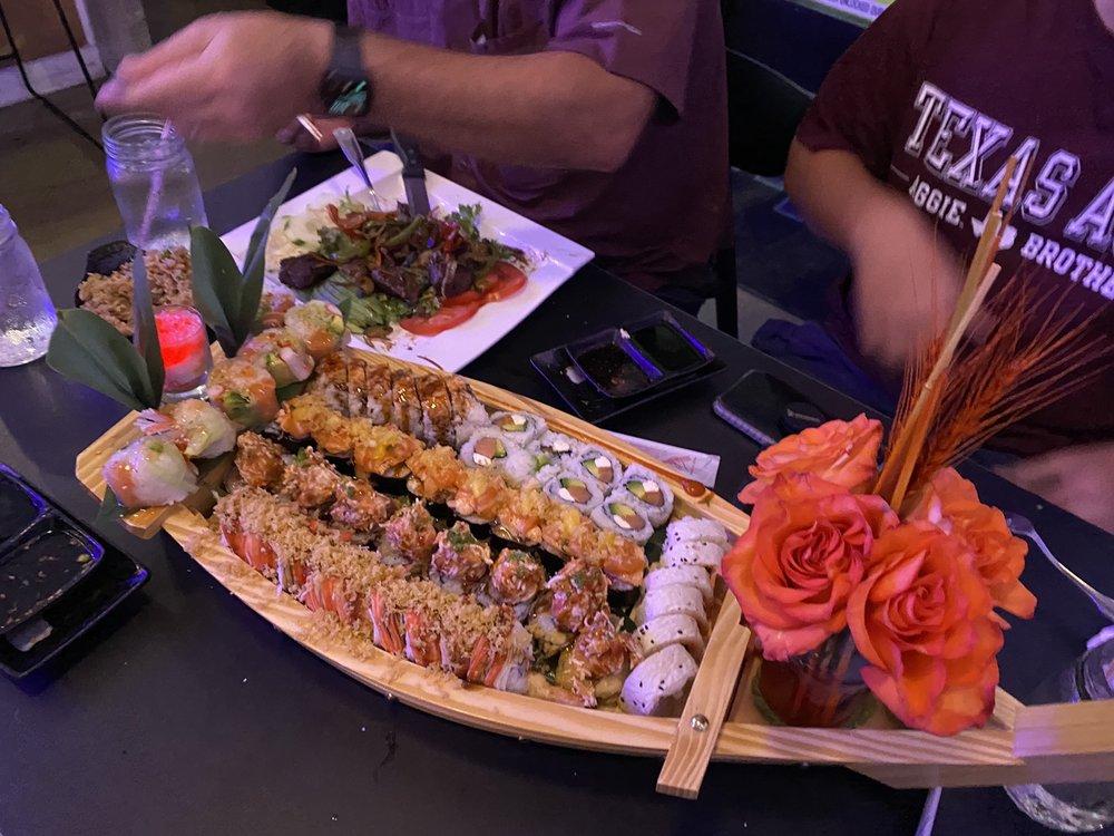Blu Fin Sushi Fusion: 2305 Longmire Dr, College Station, TX