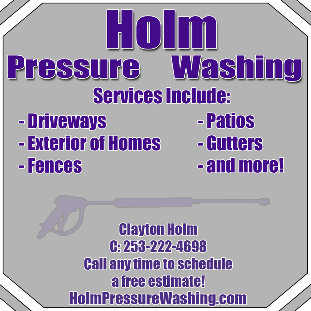 Holm Pressure Washing: Buckley, WA