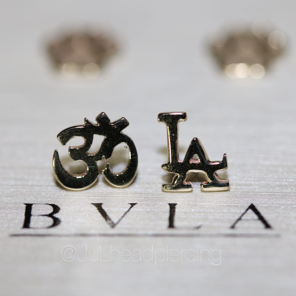 14kt Gold Ohm and LA Symbols Jewelry by LeRoi Fine Jewelry Yelp