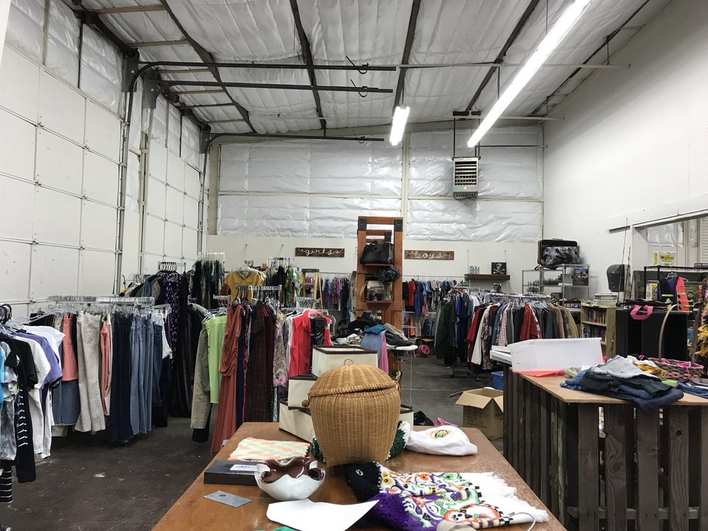 Repurposed and More Upscale Thrift: 300 North Main St, Angels Camp, CA