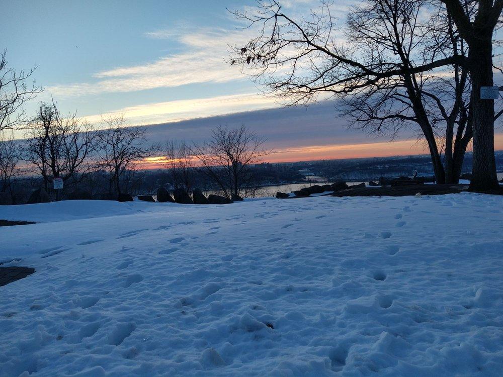 Rockefeller Lookout: Palisades Interstate Pkwy, Englewood Cliffs, NJ