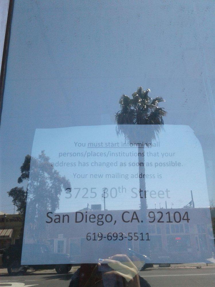 Uptown Faith Community Service Center: 3725 30th St, San Diego, CA