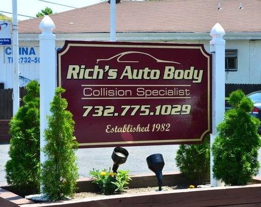 Rich's Auto Body: 1602 Asbury Ave, Asbury Park, NJ