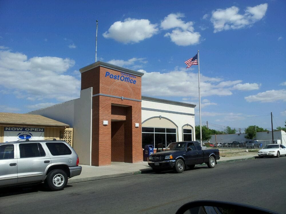 US Post Office: 140 N Hill St, Arvin, CA