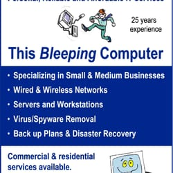 This Bleeping Computer - Request a Quote - IT Services \u0026 Computer