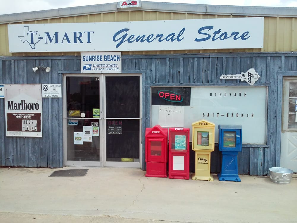T-Mart: 103 Sunrise Dr, Sunrise Beach, TX