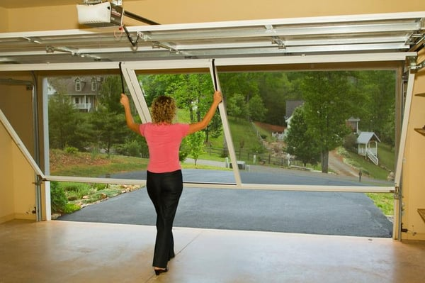 Photo Of Feather River Overhead Door   Quincy, CA, United States. Lifestyle  Garage. Lifestyle Garage Screen