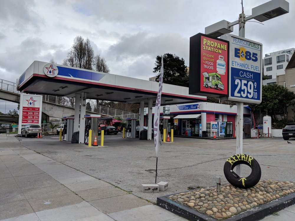 All Star Fuels: 2831 Cesar Chavez, San Francisco, CA