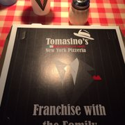 Photo of Tomasino's Pizza - Orlando, FL, United States. Has to be some of the best pizza in Orlando, a hidden gem.