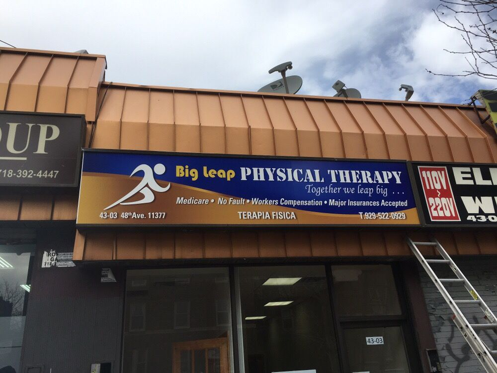 Big Leap Physical Therapy: 43-03 48th Ave, Woodside, NY