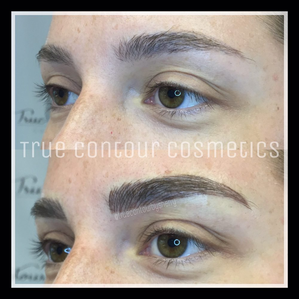 Microblading Microstroking 3d Eyebrows Semi Permanent Brow Tattoo
