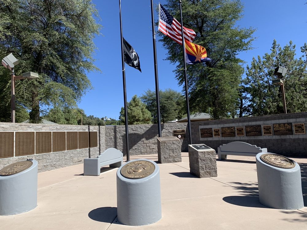 Payson Veterans Memorial: 1134 West Lake Dr, Payson, AZ