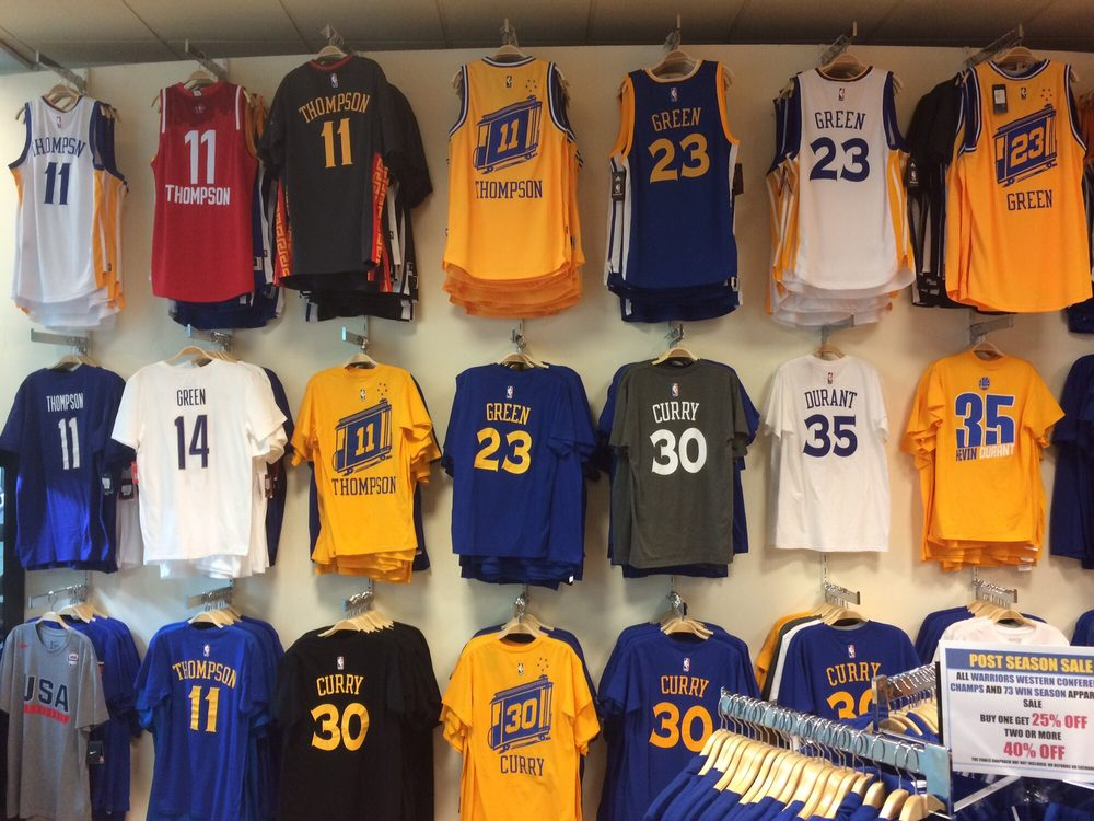 best service 2bf6d f180a GSW jerseys - Yelp