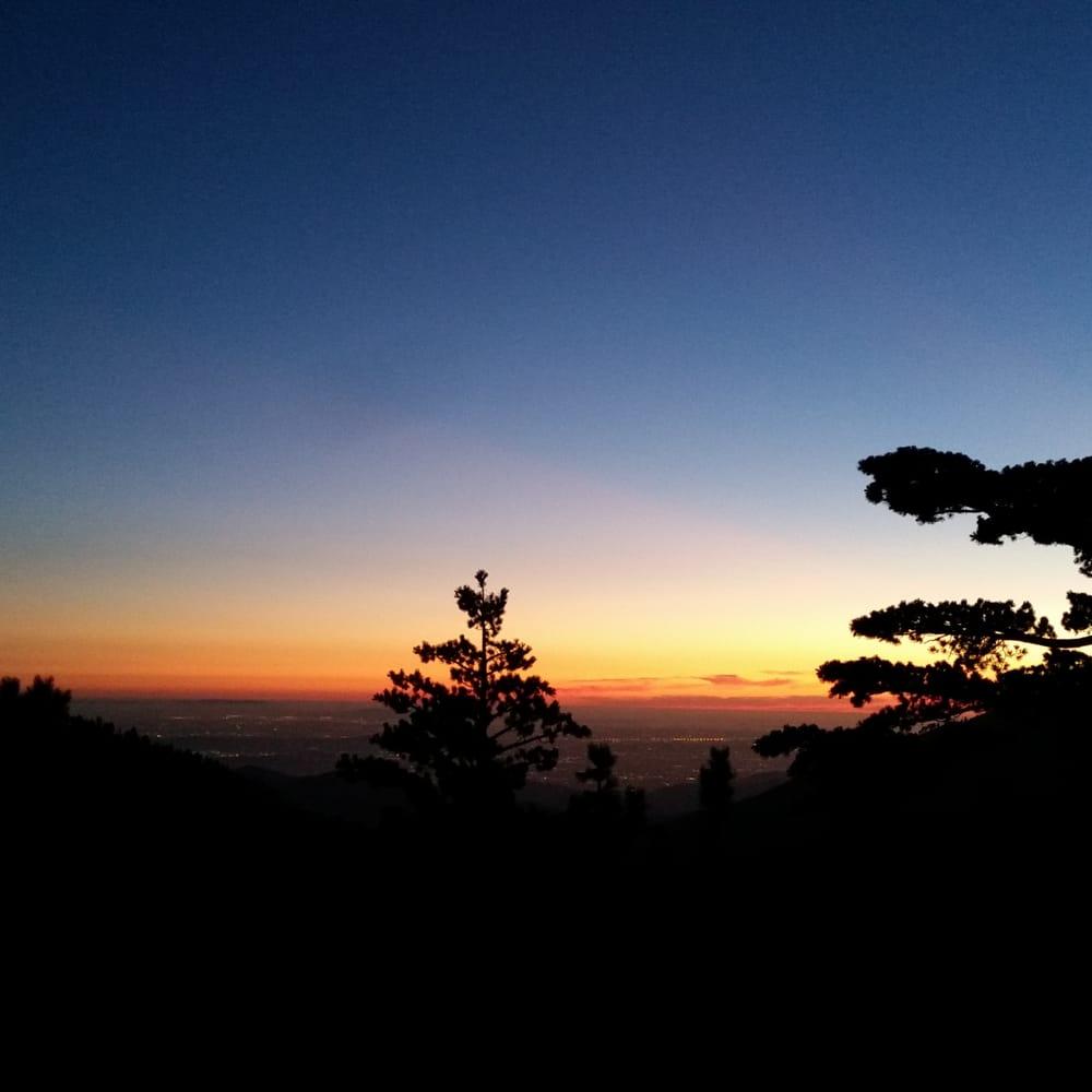 Mt Baldy Moonlight Hike