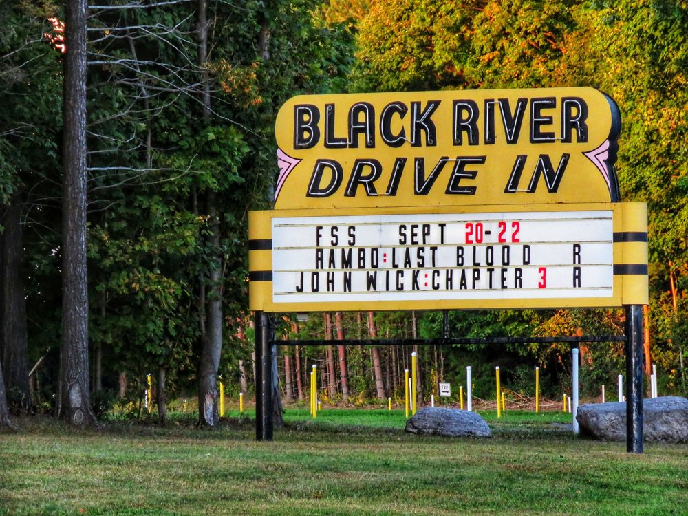 Black River Drive In Theatre: 28035 State Rt 3, Black River, NY
