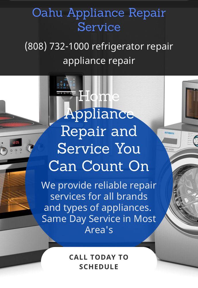 Oahu Appliance Repair Service