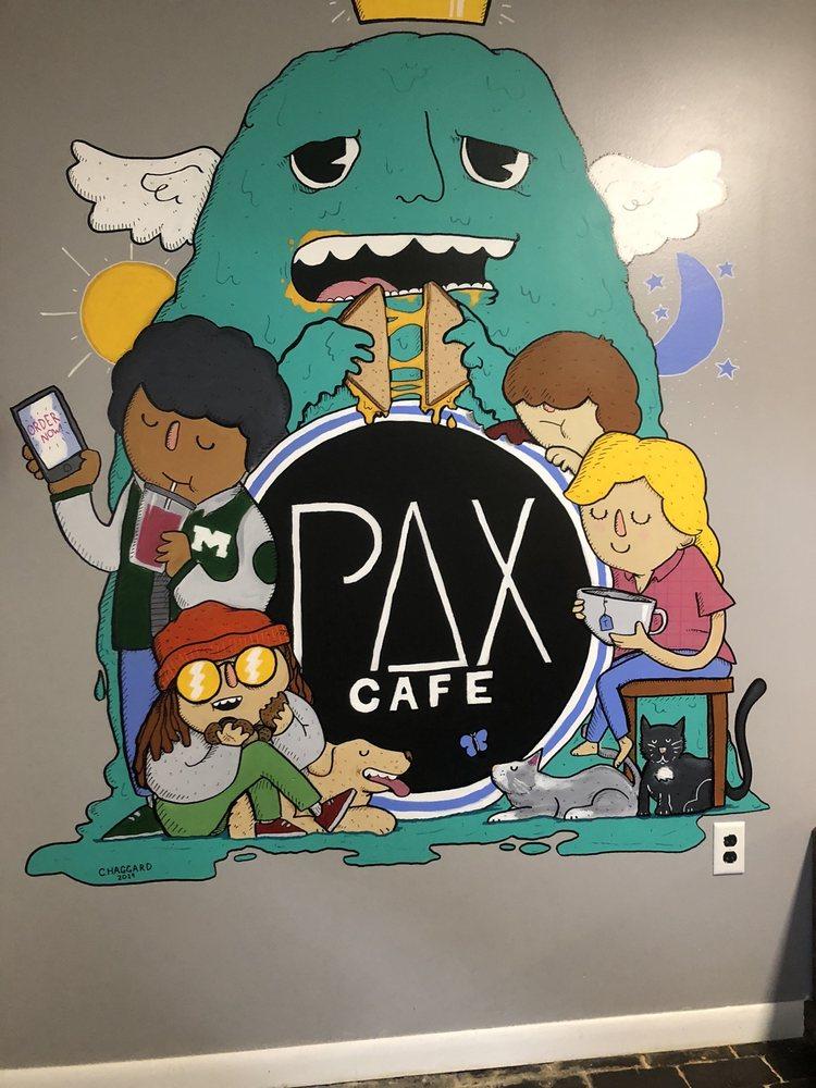 PAX Cafe: 210 11th St, Huntington, WV