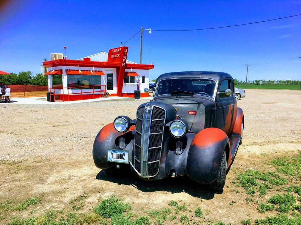 Sugar Shack Diner: 504 Main St S, Rudyard, MT