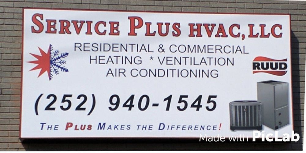 Service Plus HVAC: 824 John Small Ave, Washington, NC