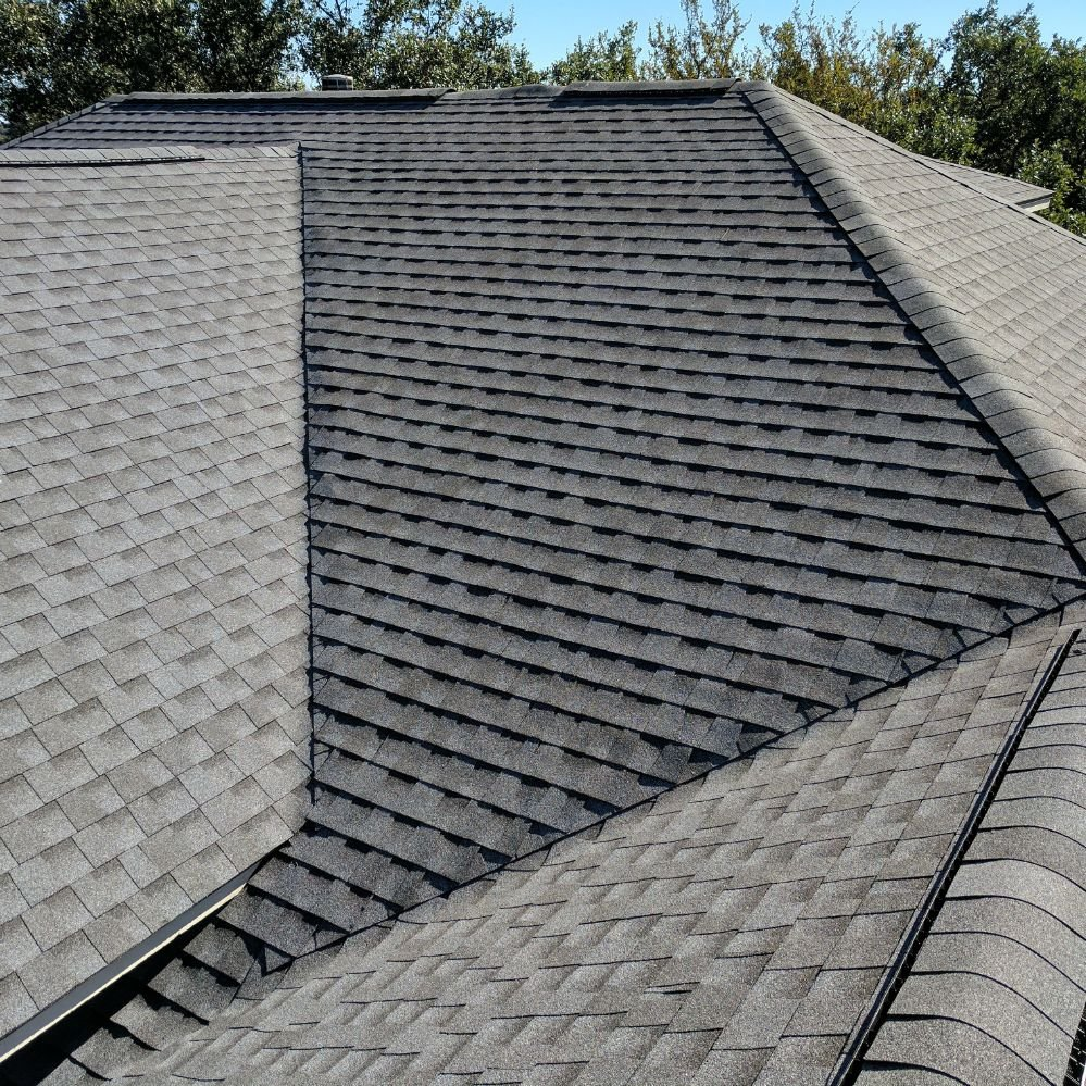 Gaf System Pewter Gray Color Timberline Hd Shingles Used