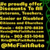 McFixit Auto: 1101 Edgewood St, Ennis, TX