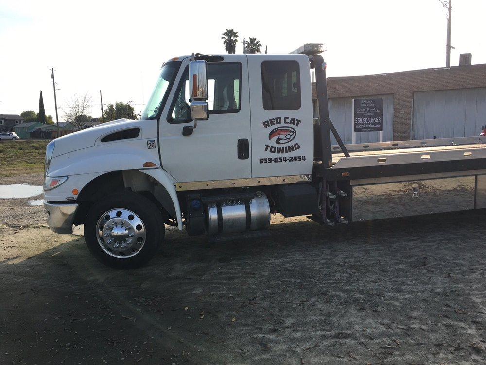 Red Cat Towing: 115 E Merced St, Fowler, CA