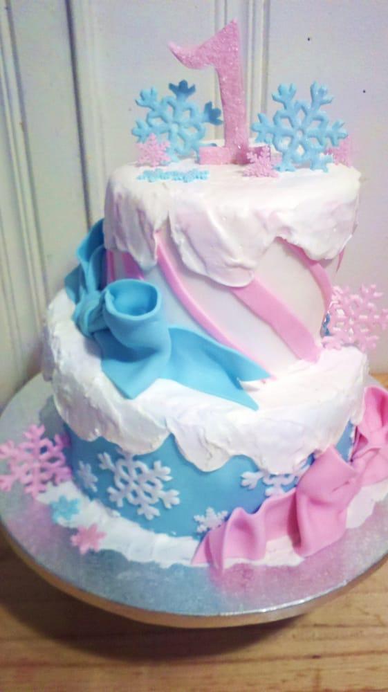 Cake Art In Salisbury Md : winter wonderland for 1st birthday - Yelp