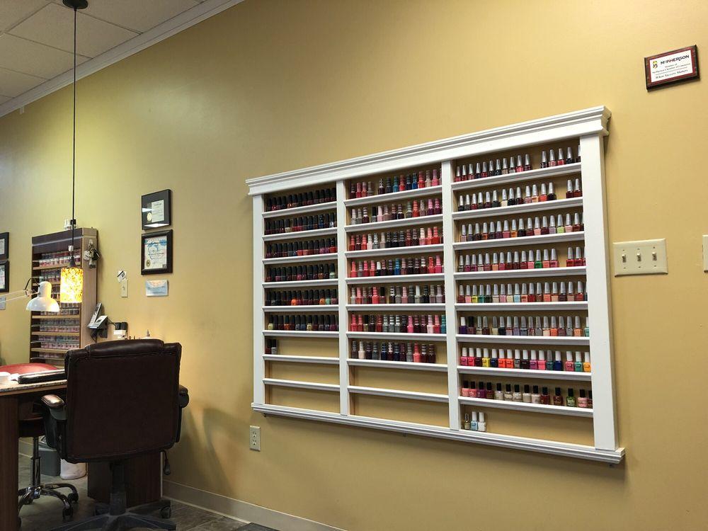 Lavish Nails and Spa: 1360 N Main St, McPherson, KS