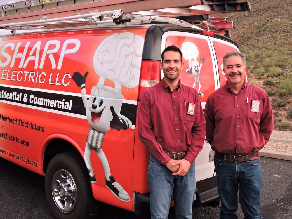 Sharp Electric: 7040 N Mona Lisa Rd, Tucson, AZ