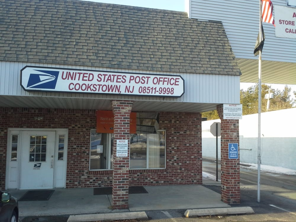 US Post Office: 7 Wrightstown Cookstown Rd, Cookstown, NJ