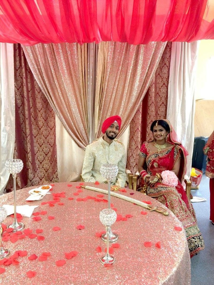 Bay Area Indian Wedding Decorations Ceremony Gurdwara Decor Yelp