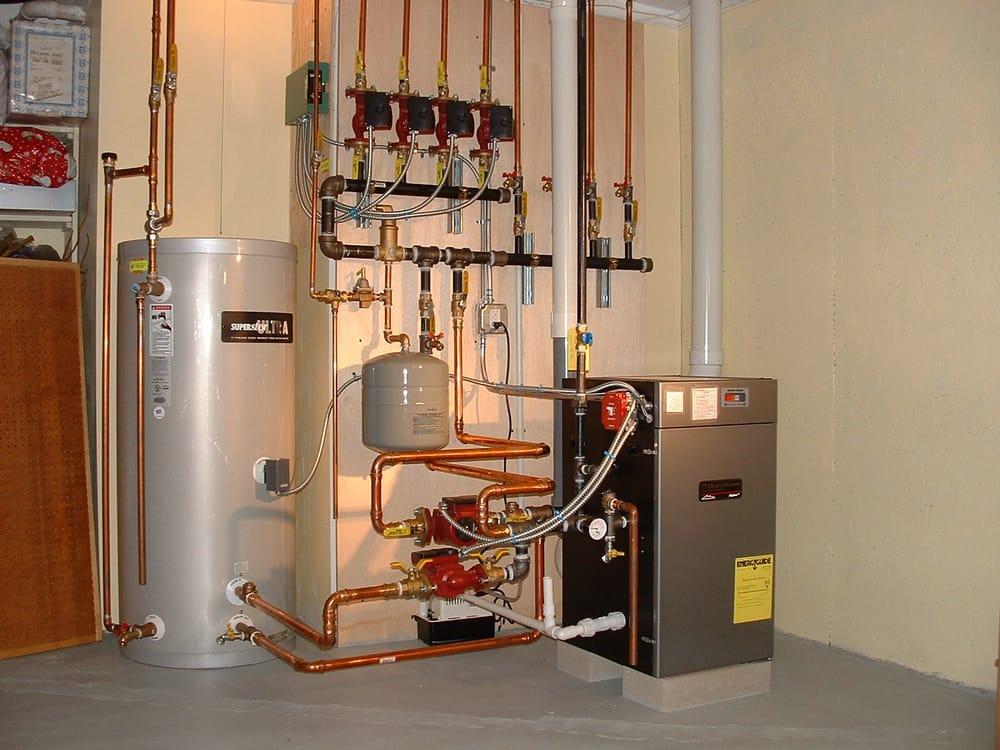 Burnham Alpine High Efficiency Gas boiler installation - Yelp